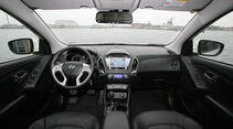 Hyundai ix35 FCEV, Innenraum, Cockpit