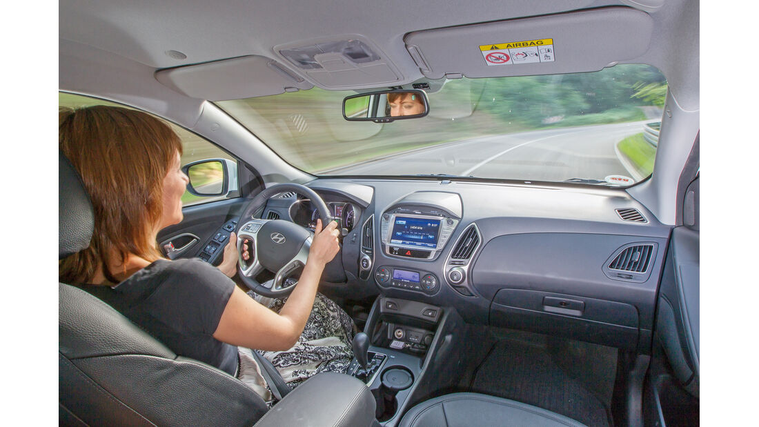 Hyundai ix35 Fuel Cell, Cockpit