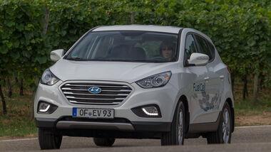 Hyundai ix35 Fuel Cell, Frontansicht