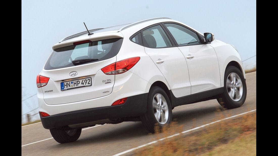 Hyundai ix35, Heckansicht