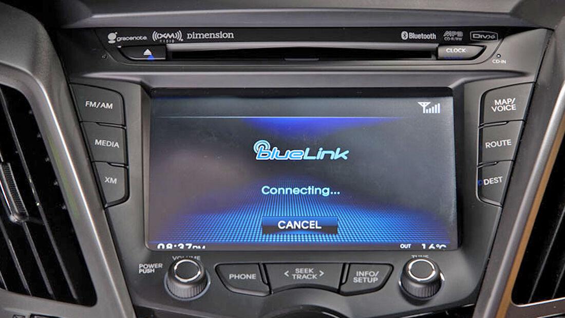 Hyundai stellt BlueLink-Support in den USA ein
