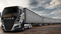 Hyzon Motors Brennstoffzellen Lkw