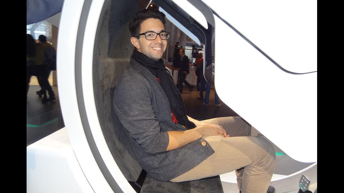 IAA 2013, Action, Roman Domes