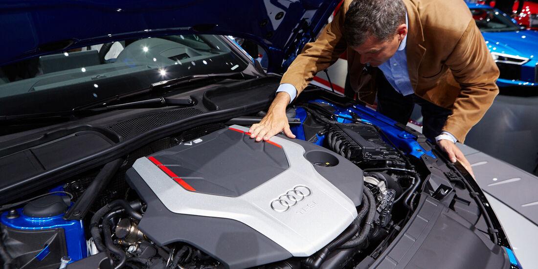 IAA 2015, Audi S4 Sitzprobe Gerd