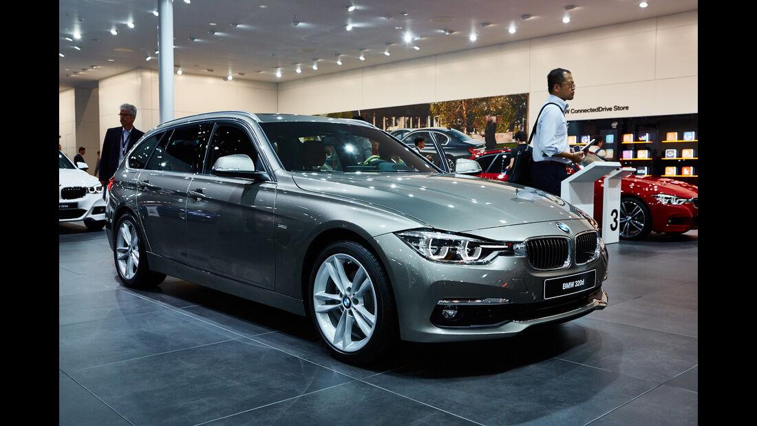 IAA 2015, BMW 3er Touring Facelift