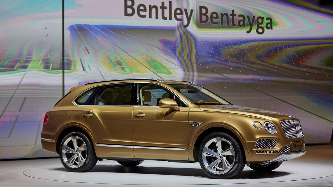 IAA 2015, Bentley Bentayga