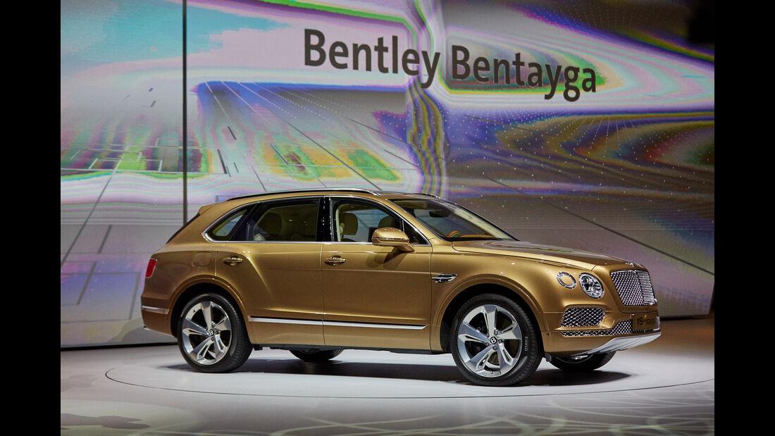IAA 2015, Bentley Bentayga