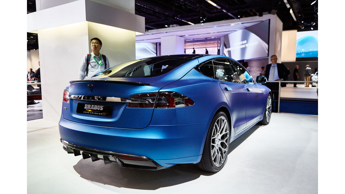 IAA 2015, Brabus-Tesla Model S