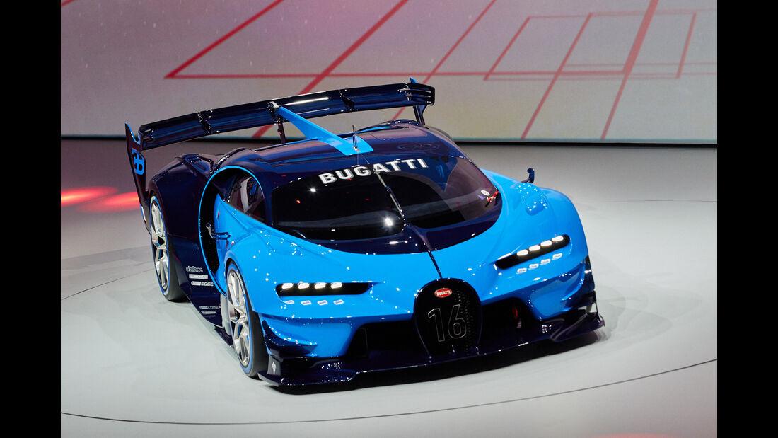 IAA 2015, Bugatti Vision Gran Turismo