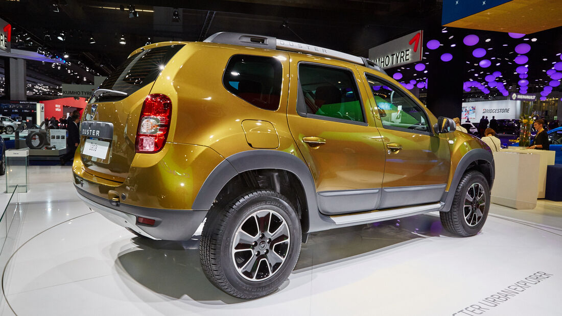 IAA 2015, Dacia Duster Facelift