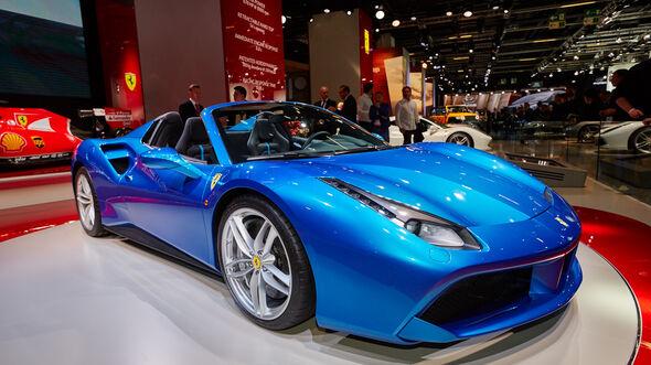 IAA 2015, Ferrari 488 Spider