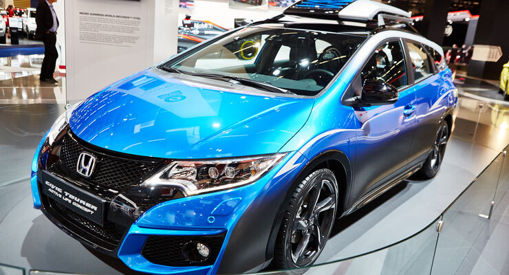 IAA 2015, Honda Civic Tourer Active Life Concept