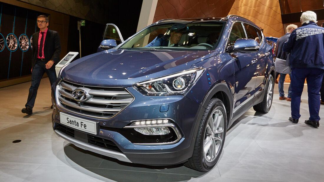 IAA 2015, Hyundai Santa Fe Facelift