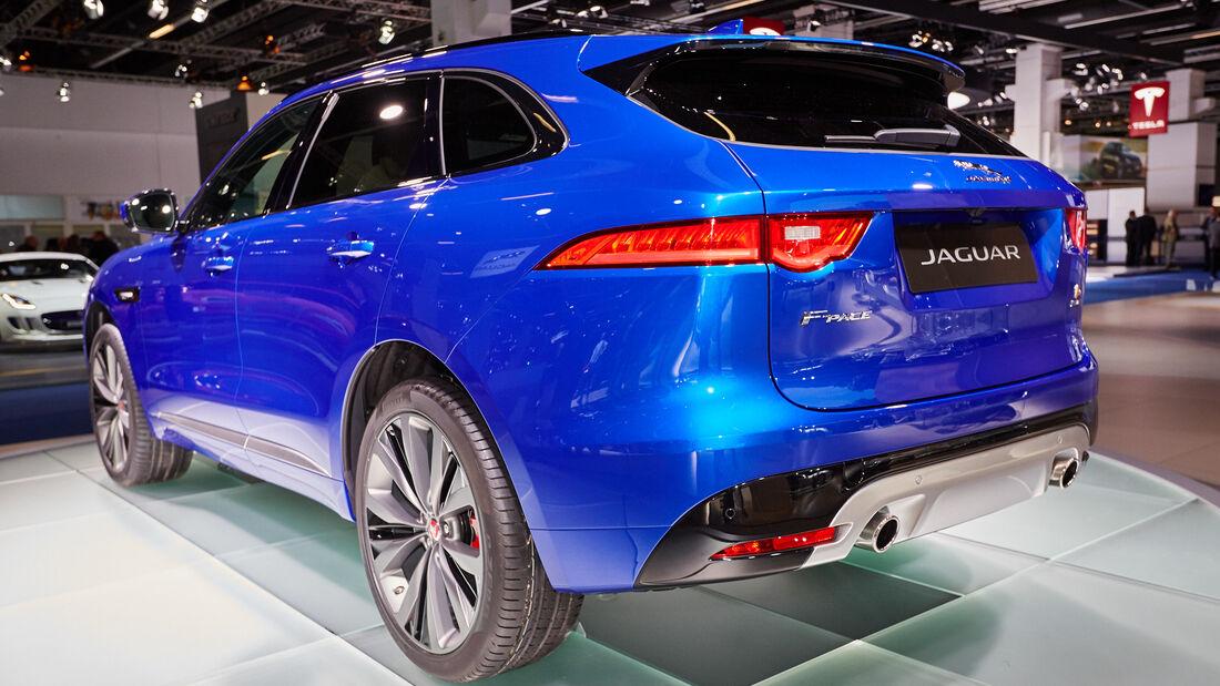 IAA 2015, Jaguar F-Pace