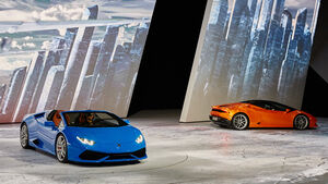 IAA 2015, Lamborghini Huracan Spyder