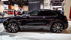 IAA 2015, Mansory Porsche Macan