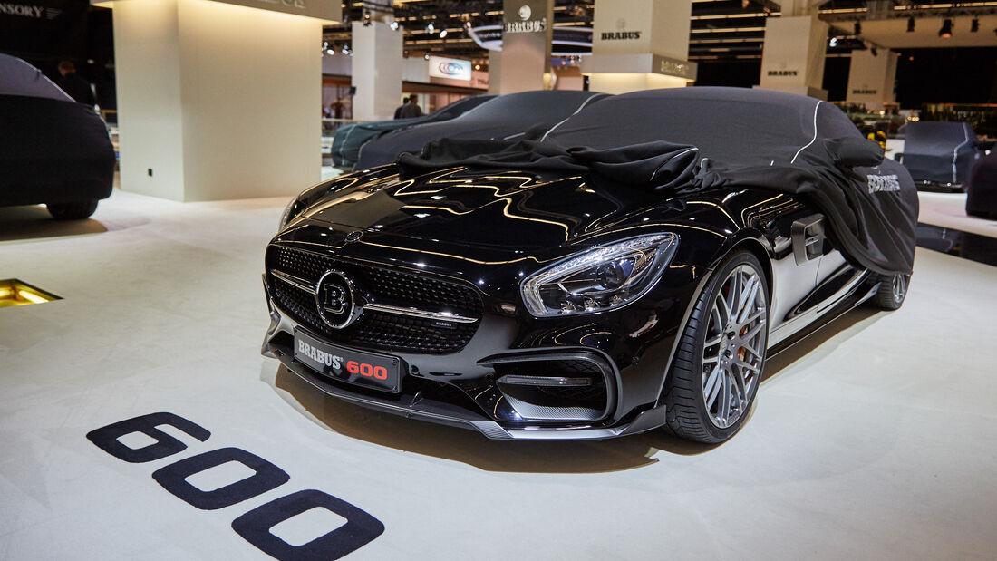 IAA 2015, Mercedes-AMG GT Brabus 600