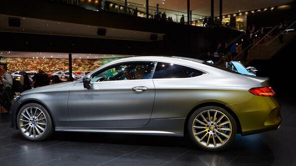 IAA 2015, Mercedes C-Klasse Coupe