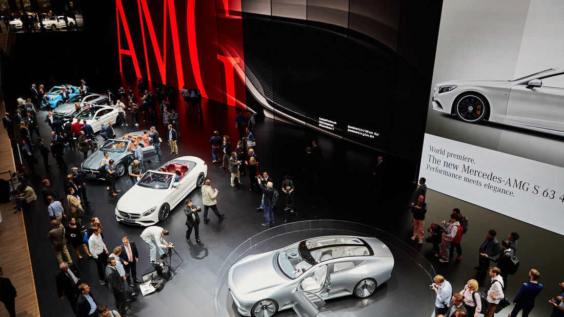 IAA 2015, Mercedes Messestand