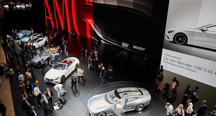 IAA 2015, Mercedes Messestand