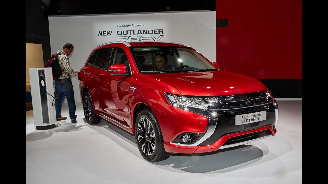 IAA 2015, Mitsubishi Outlander