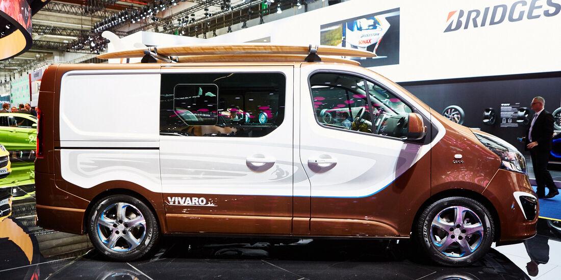 Hedendaags Opel Vivaro Surf Concept auf der IAA: Spaß-Mobil auf Bus-Basis WC-88