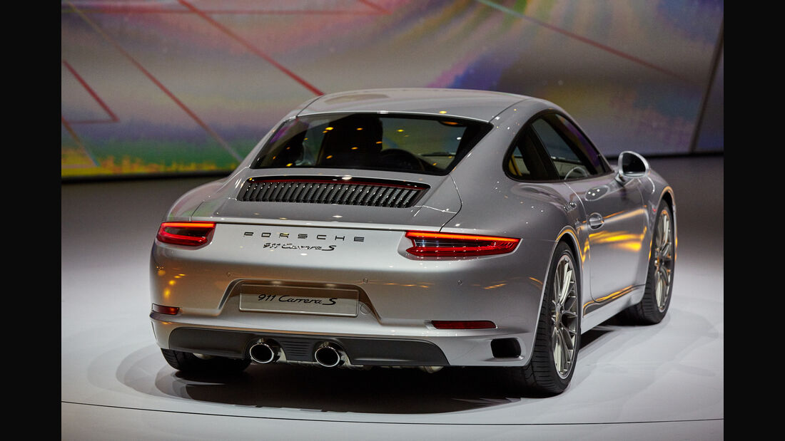 IAA 2015, Porsche 911 Facelift