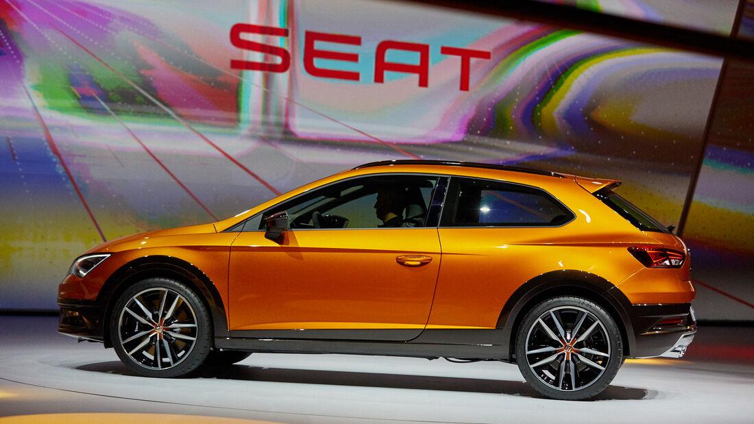 IAA 2015, Seat Leon Cross Sport