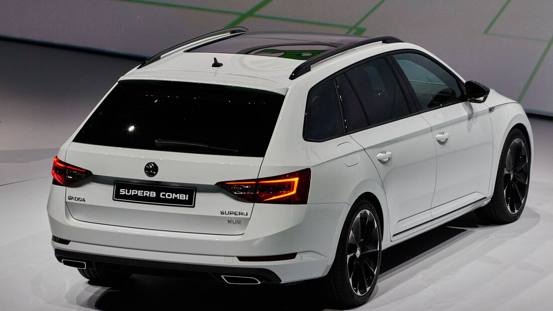 IAA 2015, Skoda Superb Combi
