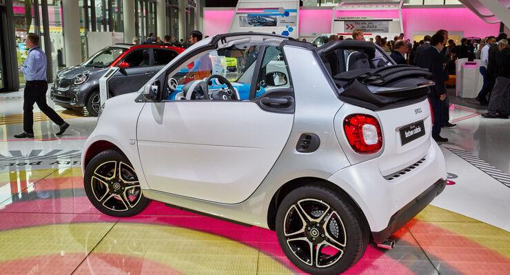 IAA 2015, Smart Cabrio