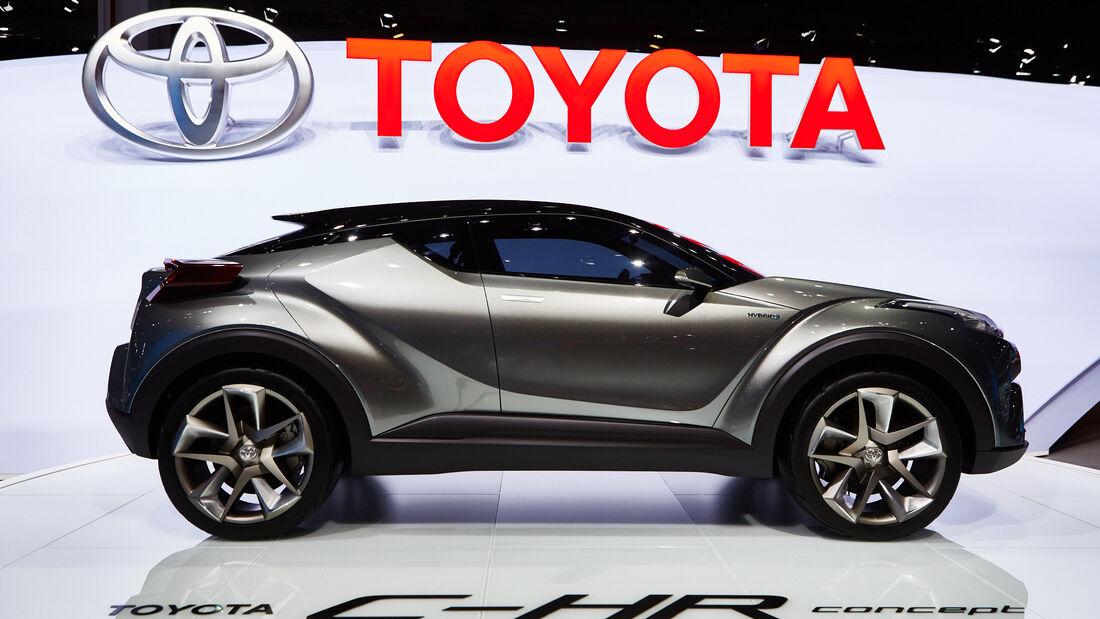 IAA 2015, Toyota C-HR Concept