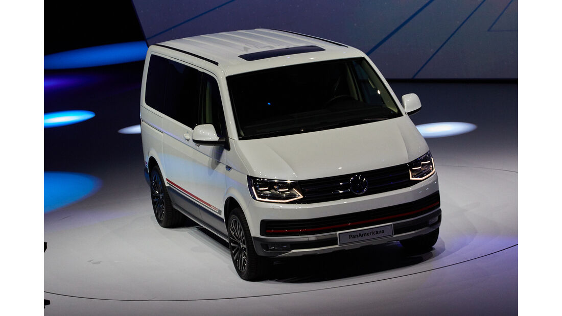 IAA 2015, VW Multivan T6 Panamericana