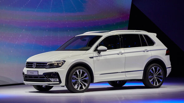 IAA 2015, VW Tiguan R-Line