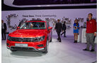 IAA 2015, VW Tiguan, Sitzprobe, 09/15