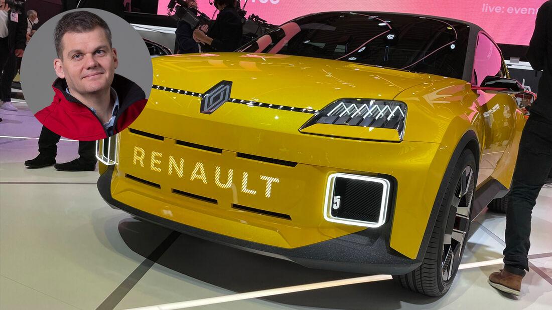 IAA München 2021 Pro Contra Renault R5 Electric