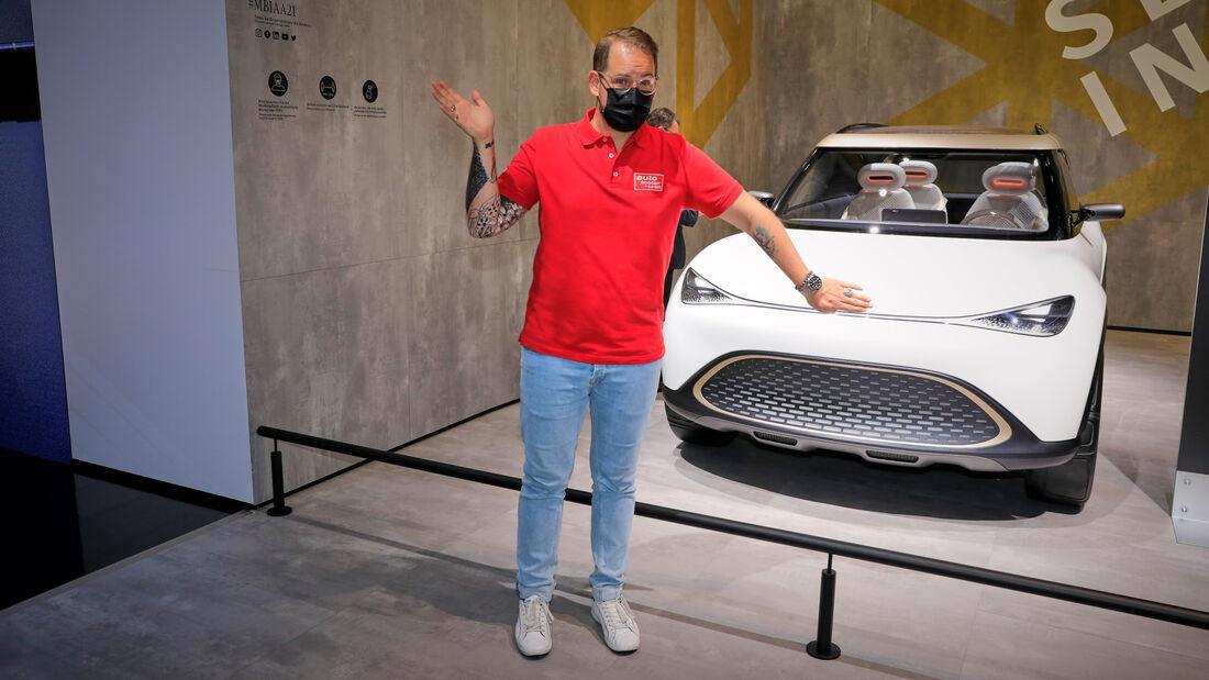 IAA München 2021 Pro Contra Smart SUV Concept