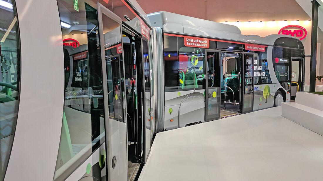 IAA Nutzfahrzeuge 2018 BYD eBus