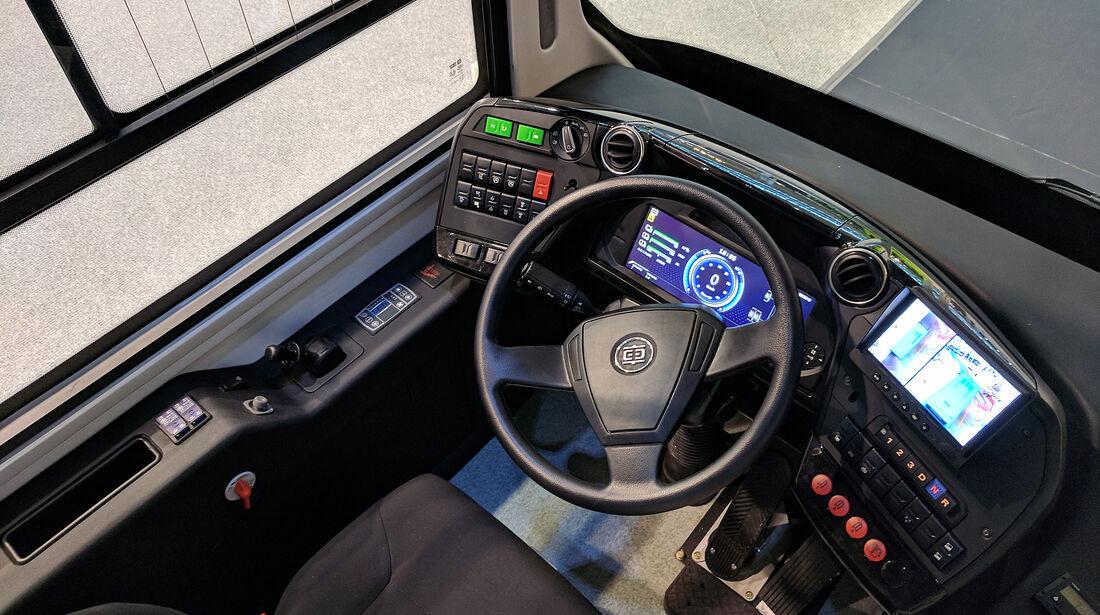 IAA Nutzfahrzeuge 2018 CRRC San Bus King