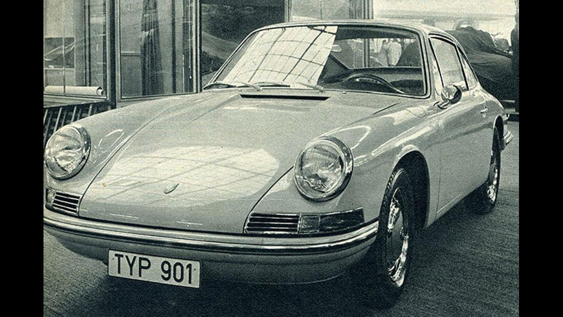 IAA, Porsche, 901, Ur-911er, Historie, Geschichte, Chronik, Highlights