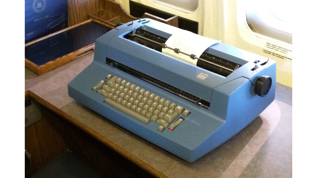 IBM Selectric II, Air Force One, Ronald Reagan Presidential Library