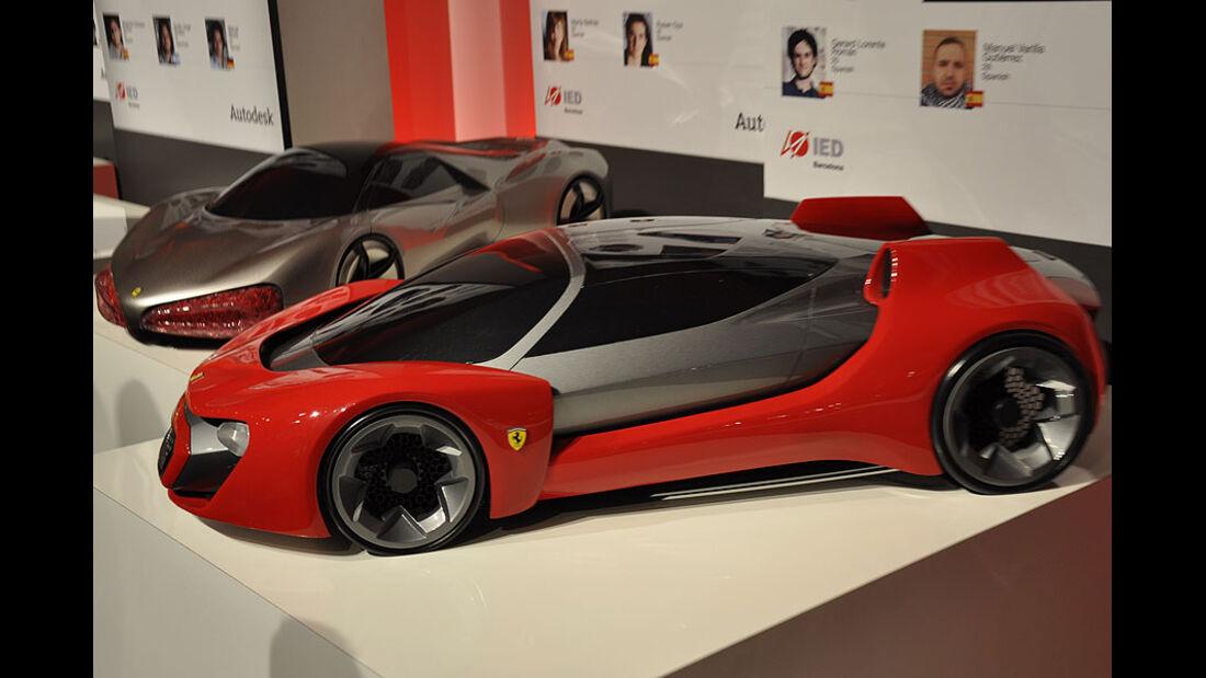 IED Barcelona, Ferrari World Design Contest 2011