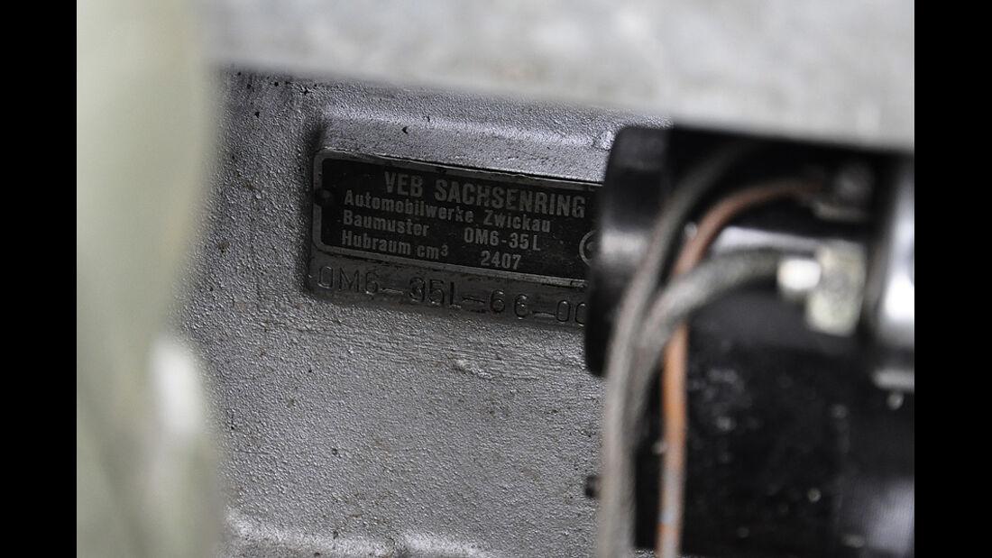 IFA P3 - VEB Sachsenring-Plakette
