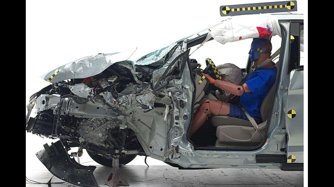 IIHS Crashtest, Ford C-Max Hybrid, 07/2014