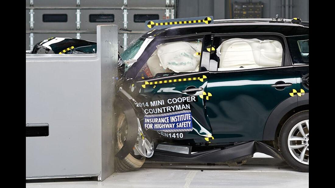IIHS Crashtest, Mini Cooper Countryman,07/2014