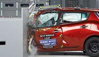 IIHS Crashtest, Nissan Leaf, 07/2014