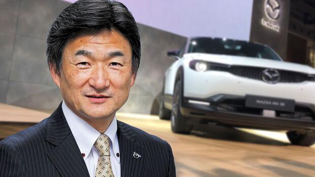 Ichiro Hirose Mazda Chief Executing Officer
