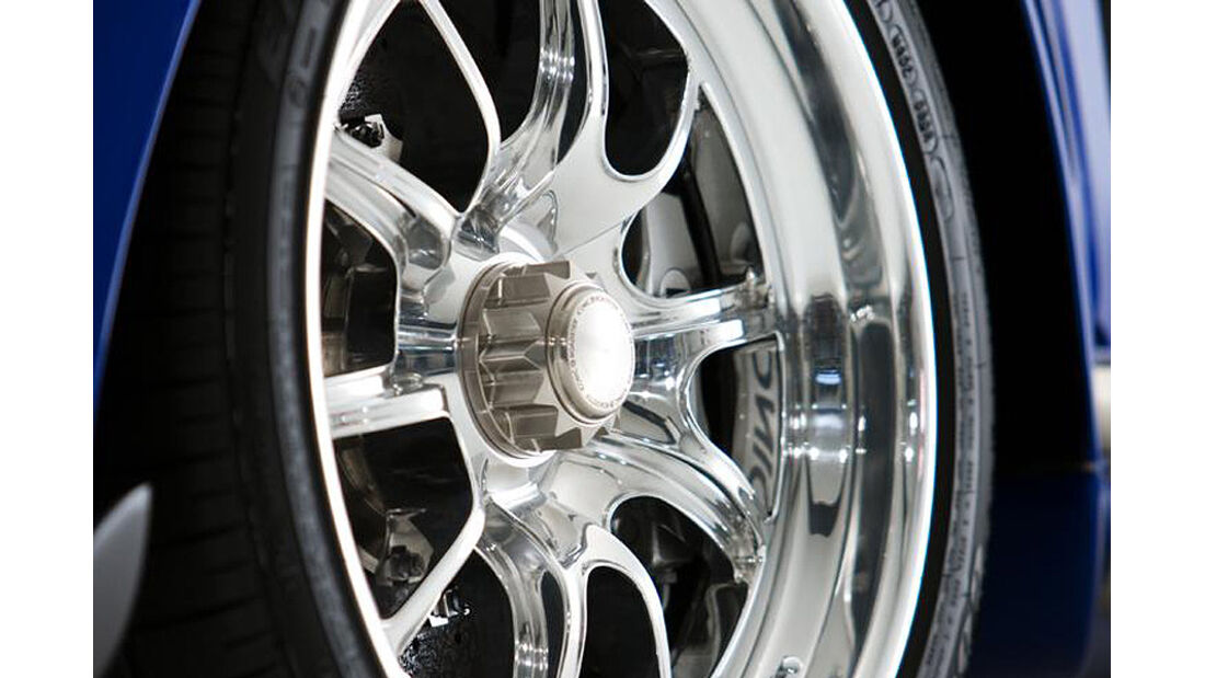 Iconic AC Roadster Felge