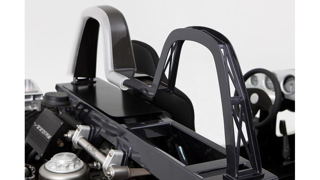 Iconic AC Roadster Überrollbügel