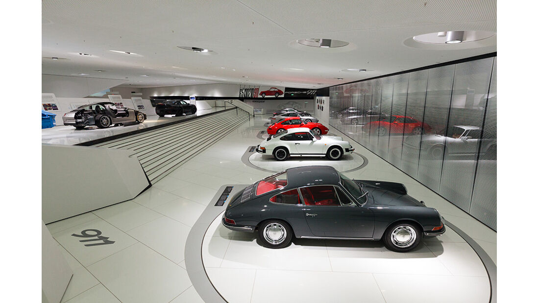 Identität 911 - Sonderausstellung im Porsche Museum