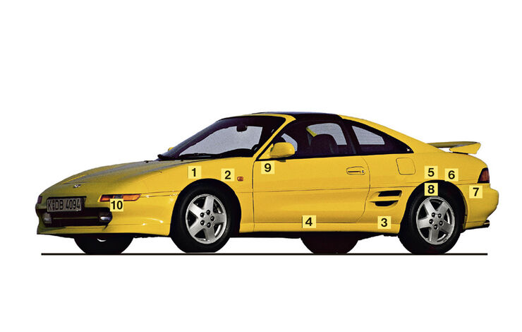 Igelbild, Toyota MR2 Turbo